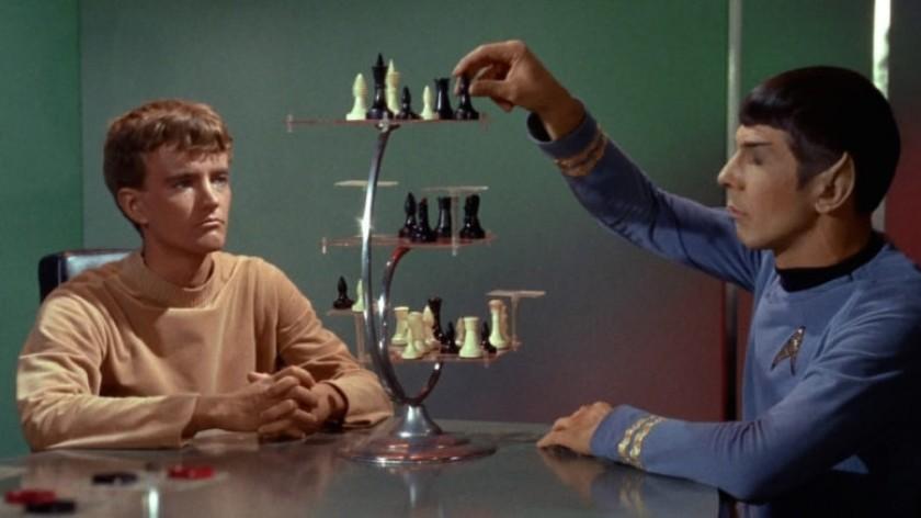 Les échecs cubiques représentés dans Star Trek