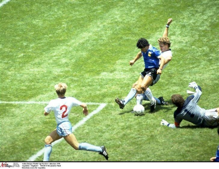 Les efforts de Maradona ont évincé l'Angleterre de la Coupe du Monde 1986.