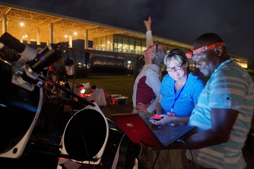 Scientists work in Senegal