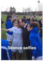 A snapchat of Iceland's foreign minister taking a selfie.