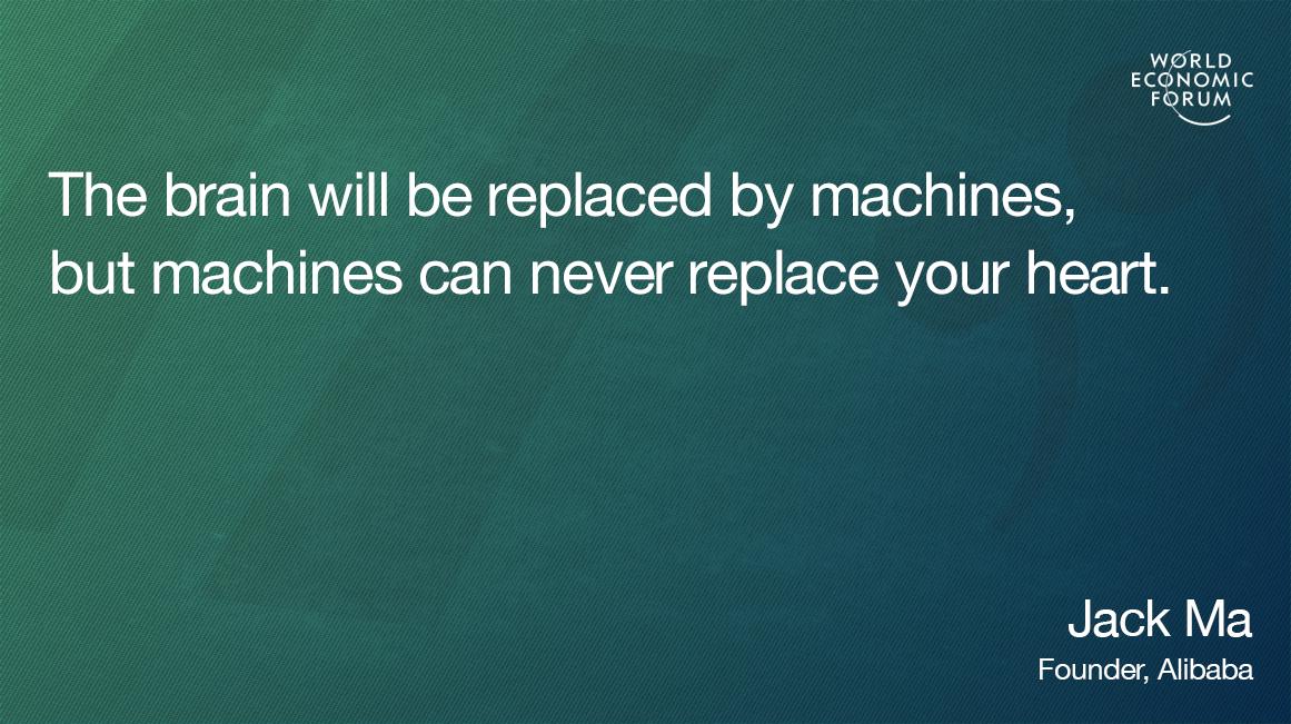 Jack Ma quotecard education automation
