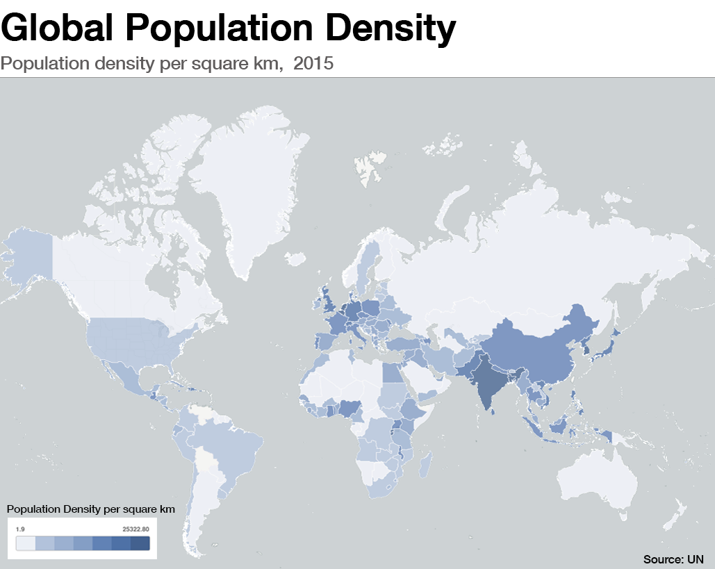 These are the worlds most crowded cities World Economic Forum