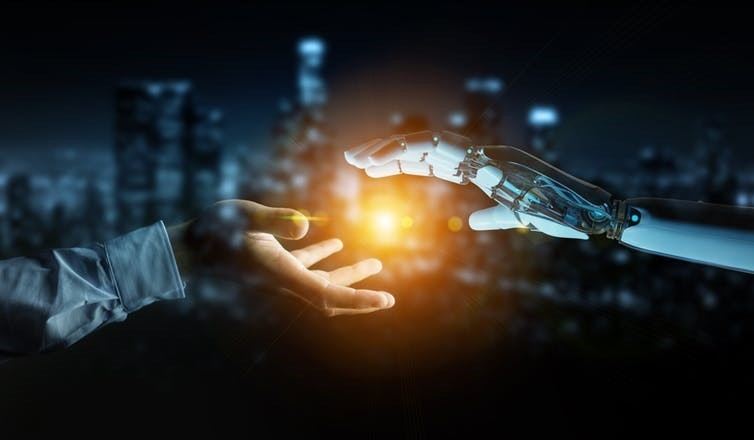Governments could encourage the integration of human and artificial intelligence