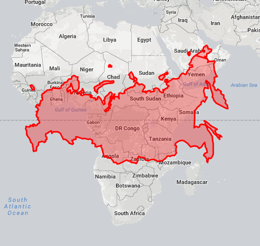 Your view of the world is distorted This interactive map will