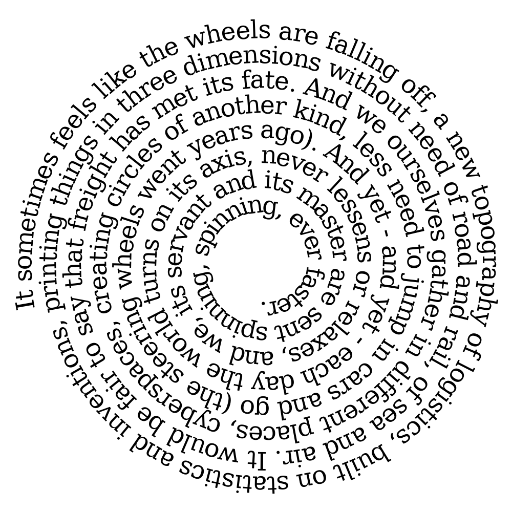 Four revolutions or technological progress in a poem world a venn diagram poem on the future of work a new poem on the tyrannical perfection of modern life ccuart Image collections