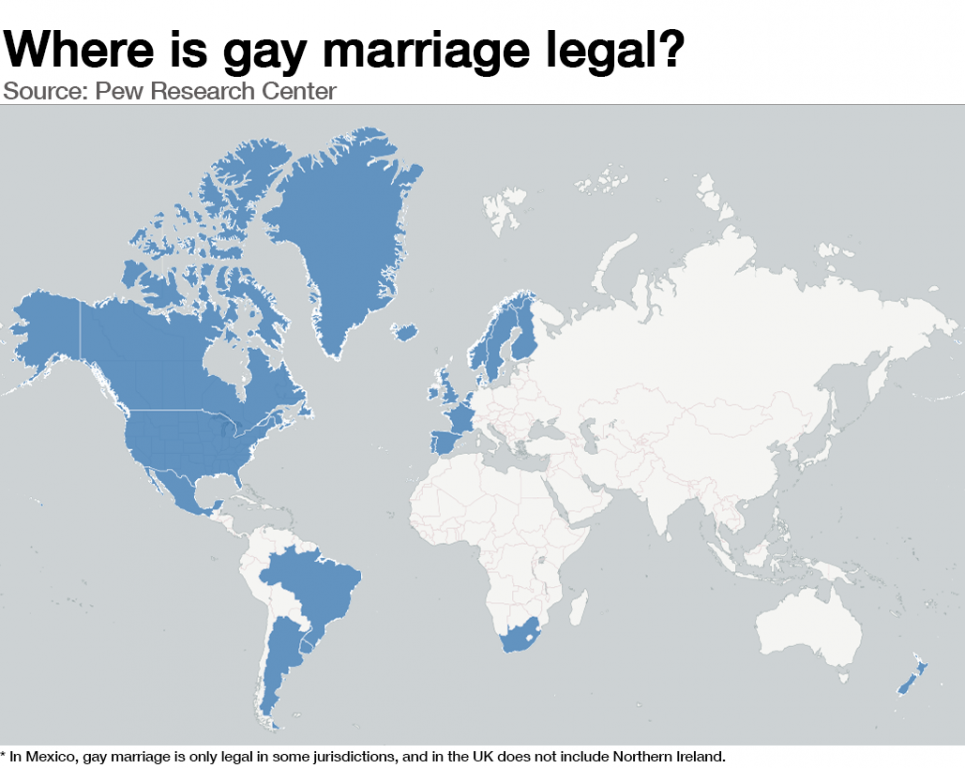 World same sex marriage in the