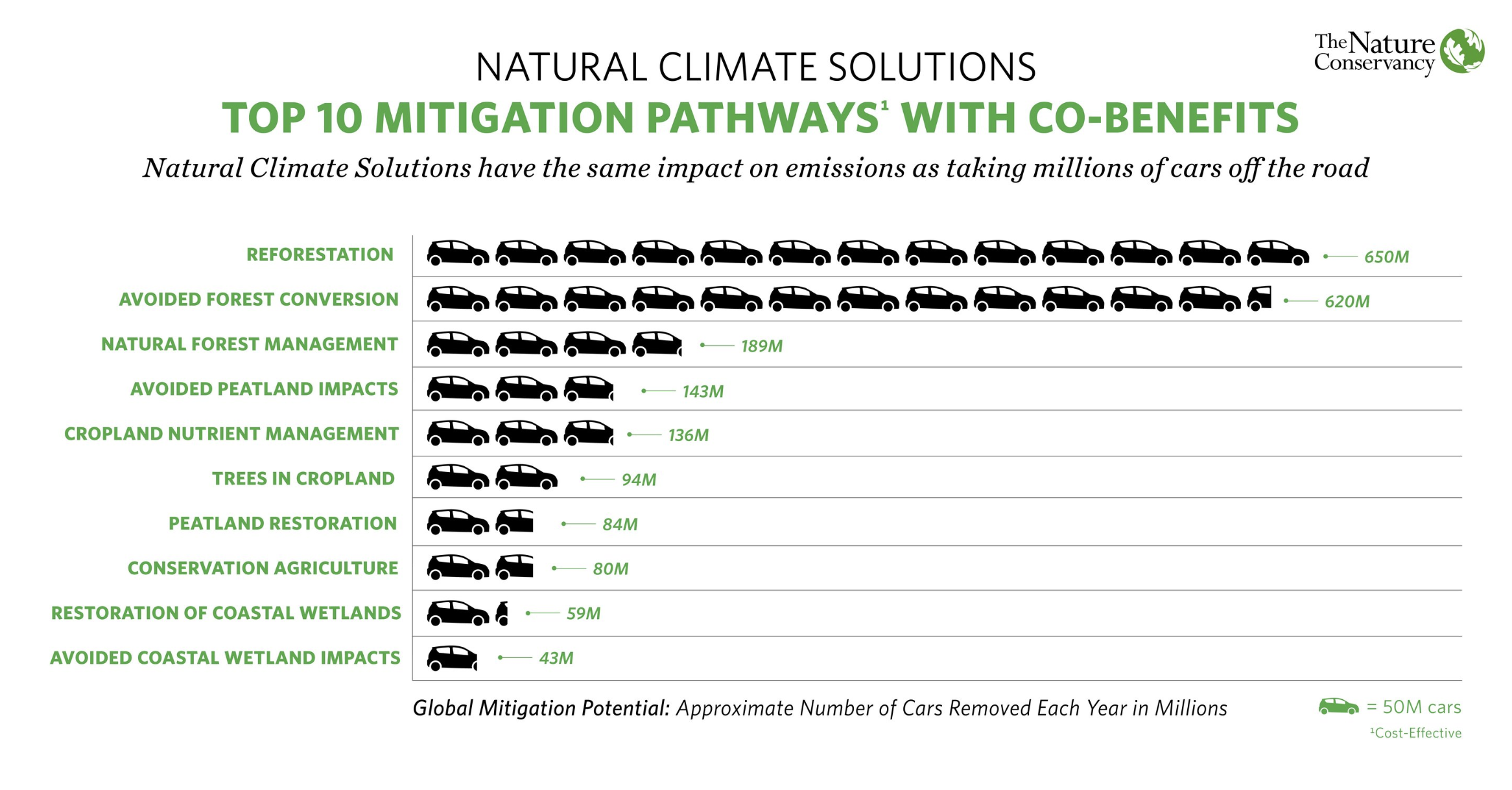 Natural climate solutions have a huge role to play in mitigating CO2 emissions