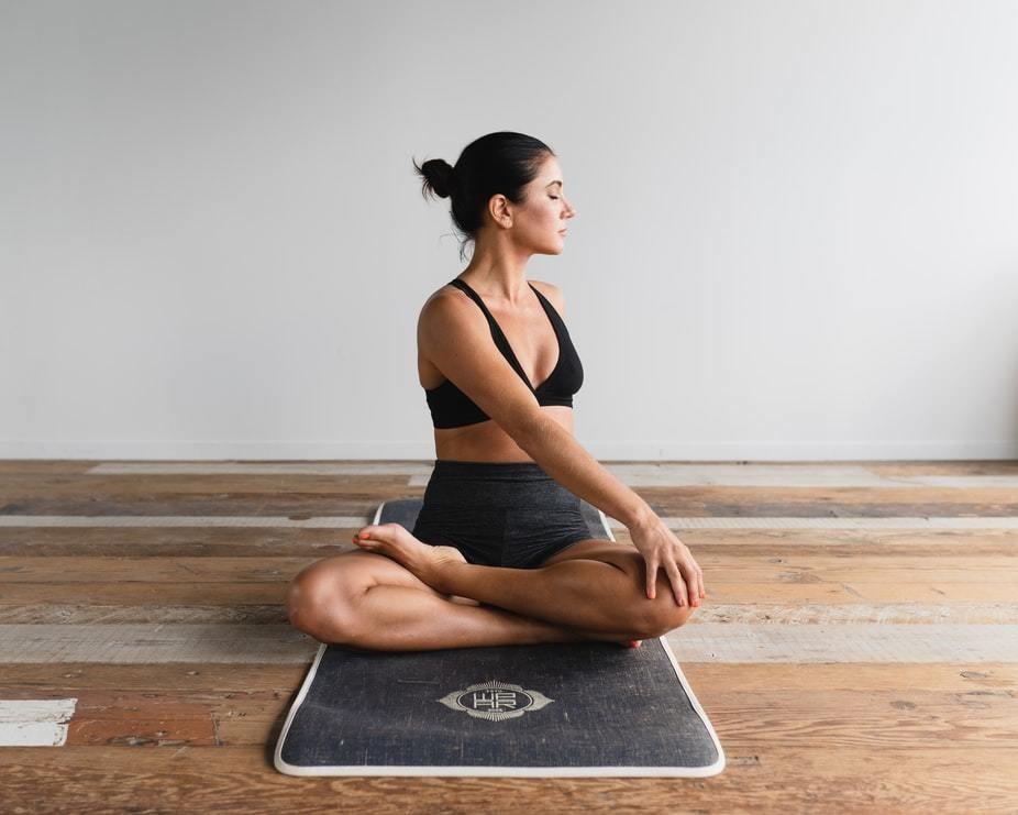 COVID-19 coronavirus lockdown mental health wellness plan self-help yoga