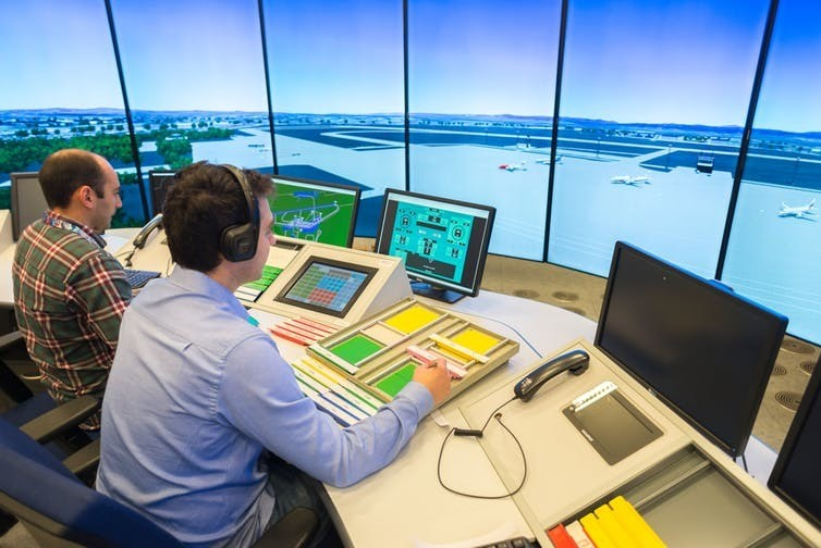 Air traffic controllers and millennials face similar stresses.