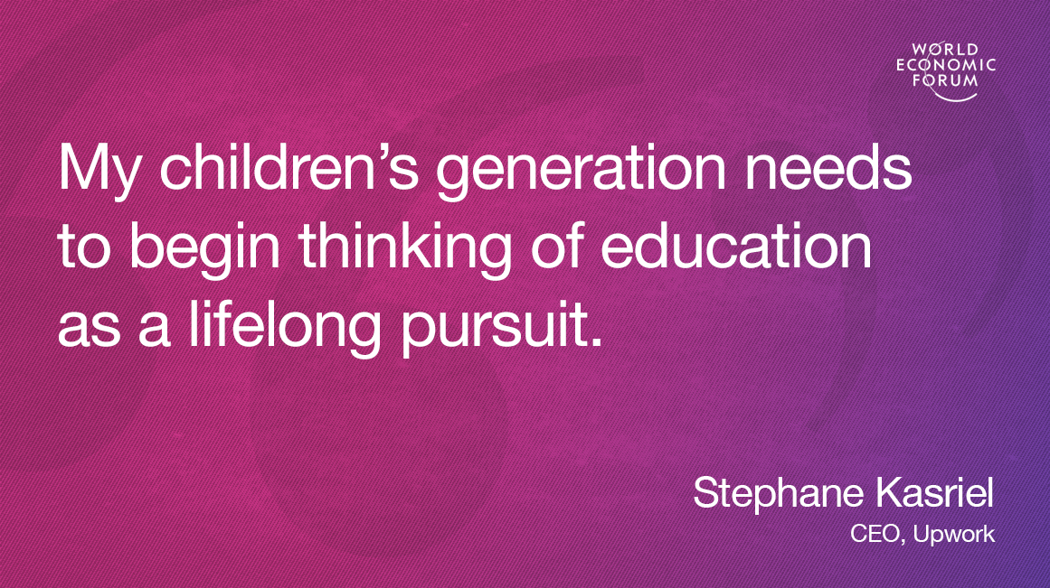 Here's what to tell your kids to prepare them for the future