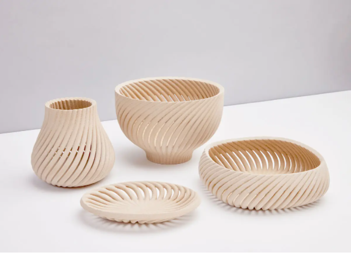 A number of bowls produced by Forust.