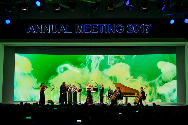 Annual Meeting's opening concert featuring Crystal Award honouree Anne-Sophie Mutter and the