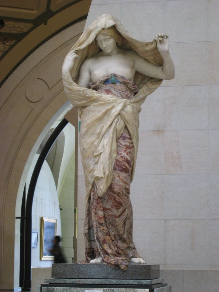 Nature Unveiling Herself Before Science (Musée d'Orsay).