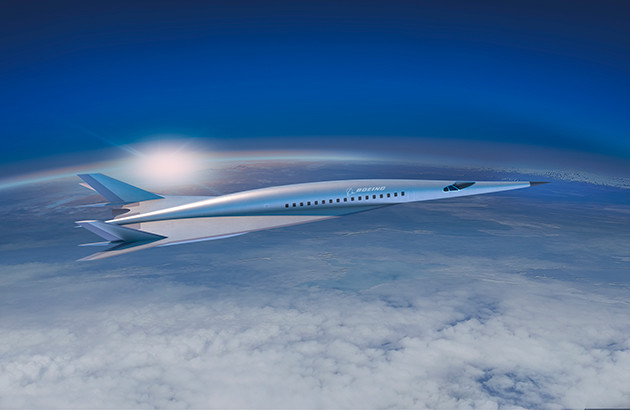 Boeing says its hypersonic plane could be used for commercial or military purposes.