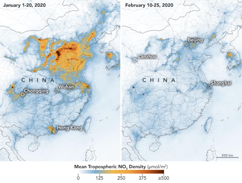 How Are Coronavirus Lockdowns Changing The Environment World Economic Forum