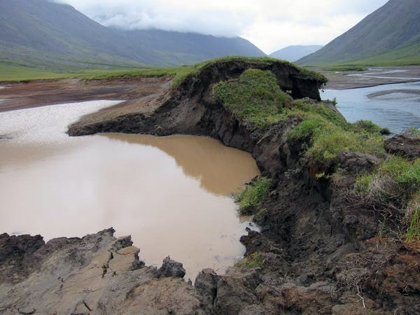 As permafrost thaws, ice-nucleating particles are getting into rivers, lakes and eventually the ocean.