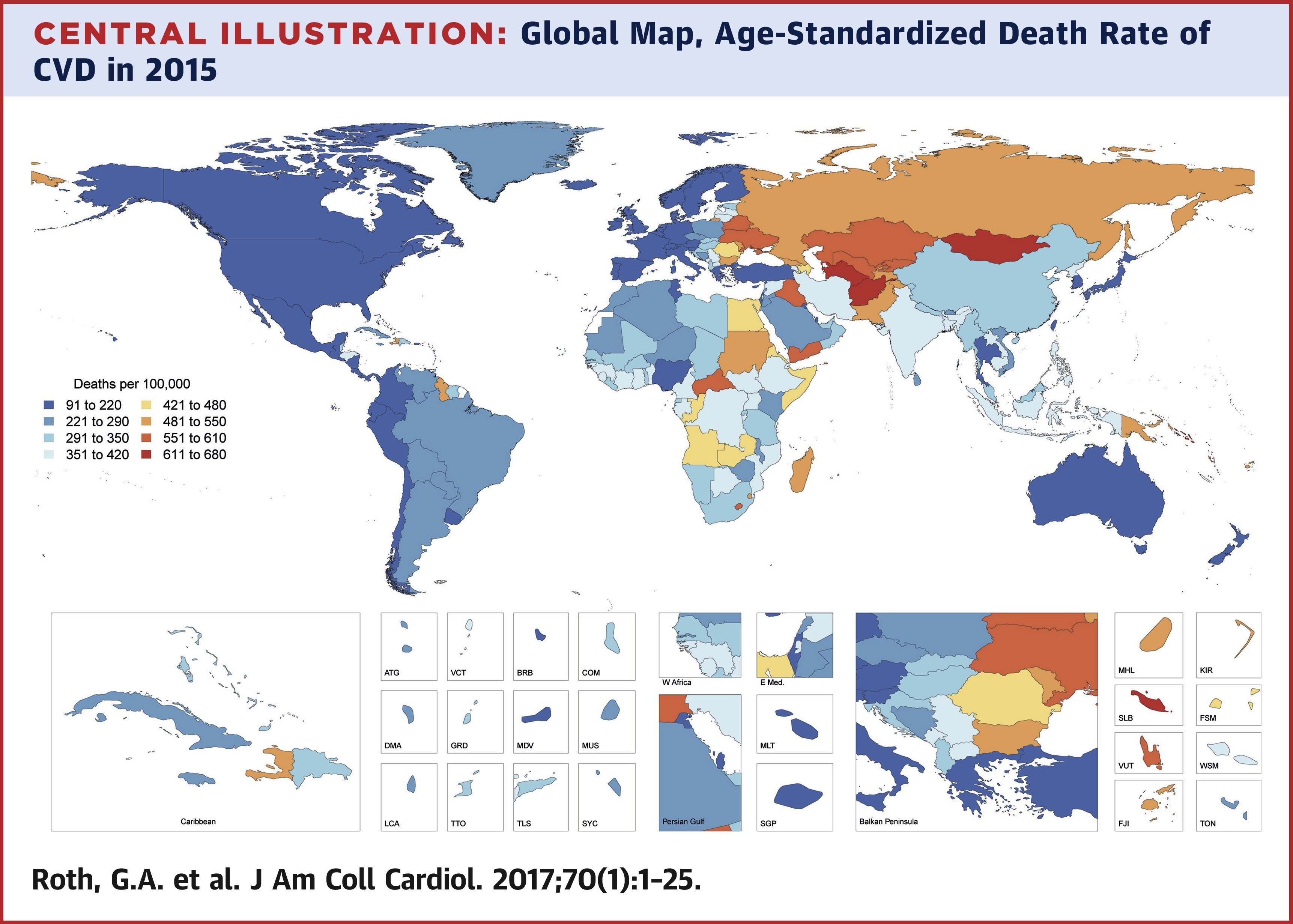 Cardiovascular disease is a growing issue around the world