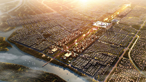 Amaravati envisioned as modern and sustainable.