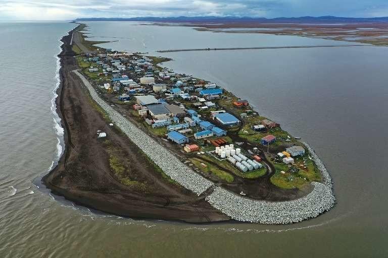 Le village de Kivalina, en Alaska, dans le cercle arctique, le 10 septembre 2019.