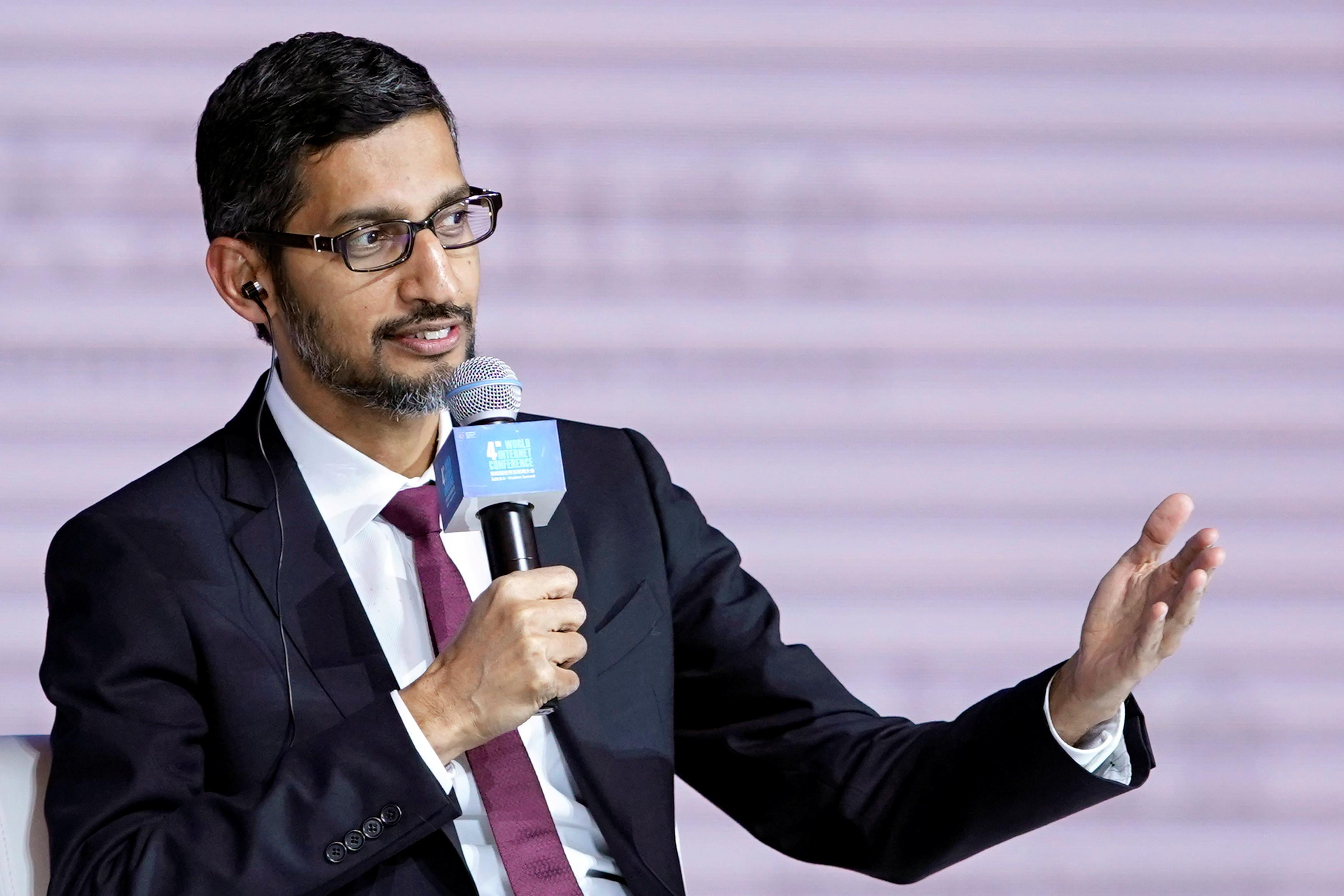 Google CEO Sundar Pichai opted for a book on the gene.