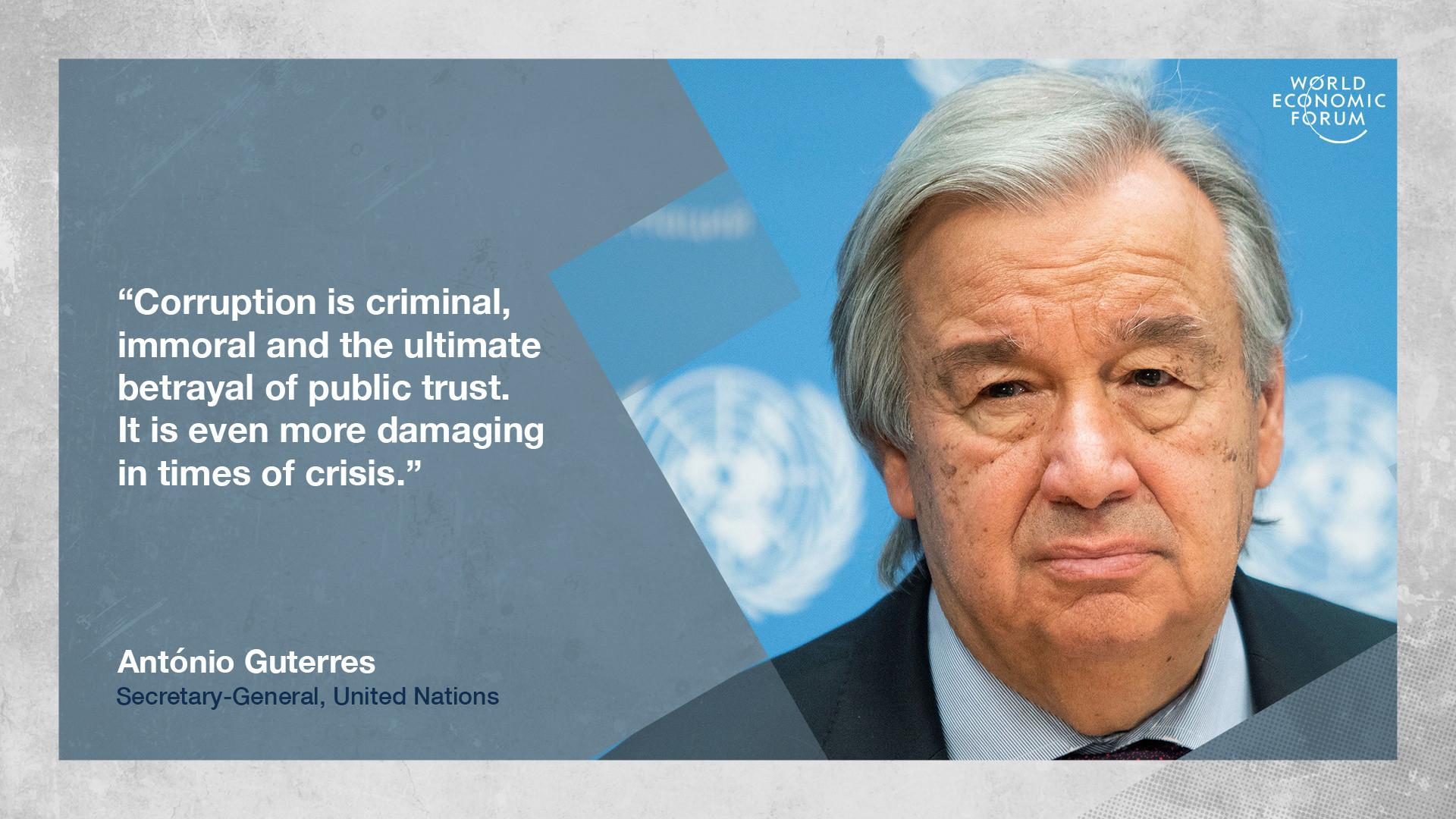 Corruption governance trust United Nations