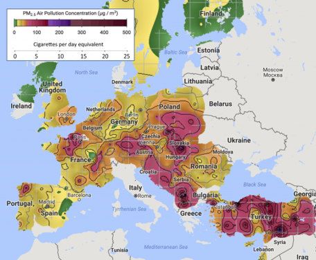 Europe S Dirty Air Kills 400 000 People Every Year World Economic