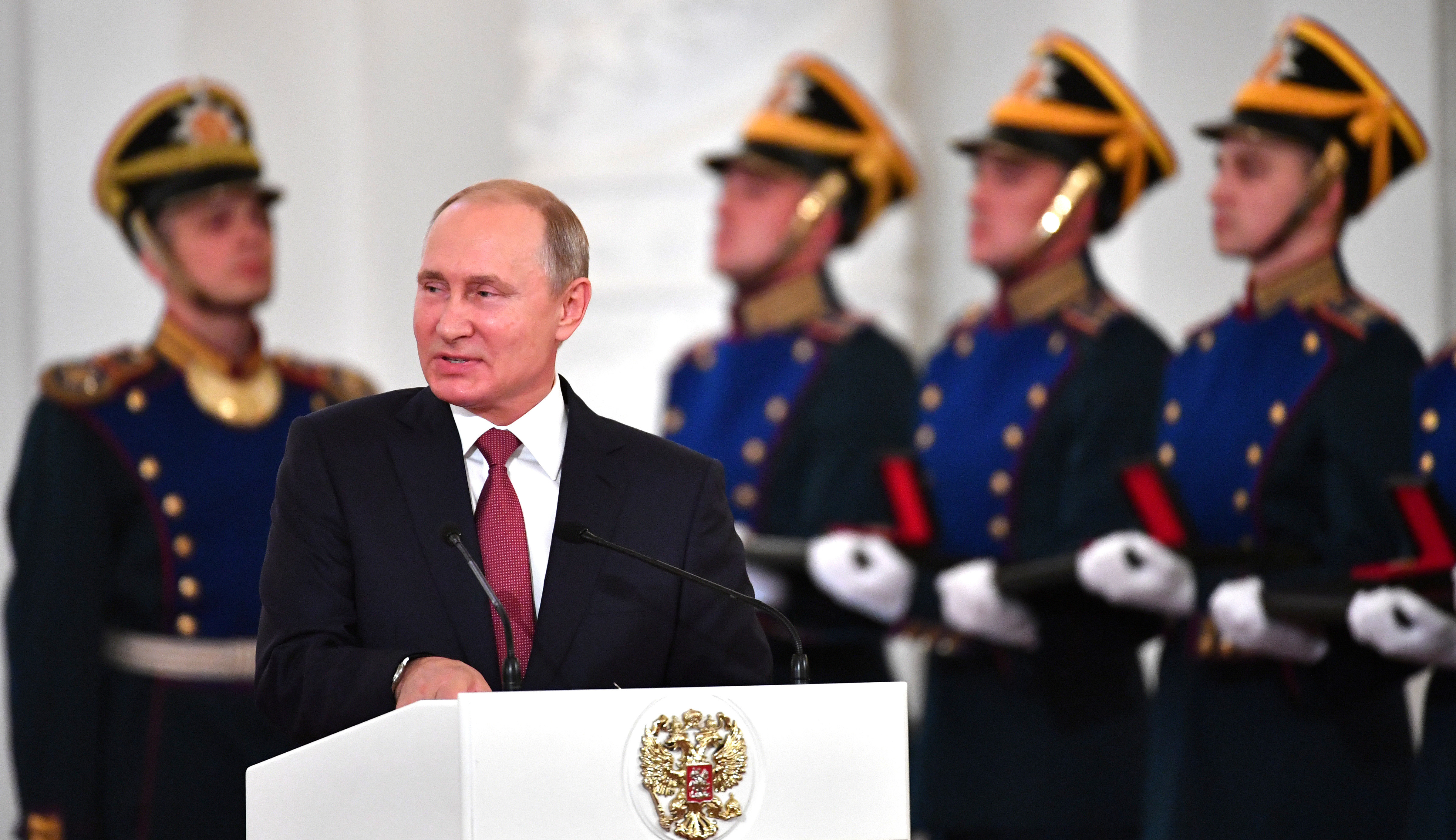 Vladimir Putin believes the race for AI is key to global dominance.