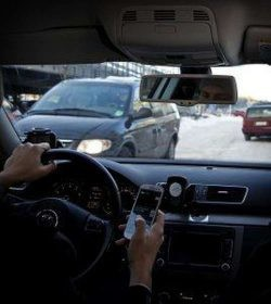 Une étude de l'université de Jyväskylä (Finlande) a suivi les habitudes téléphoniques des conducteurs finlandais.