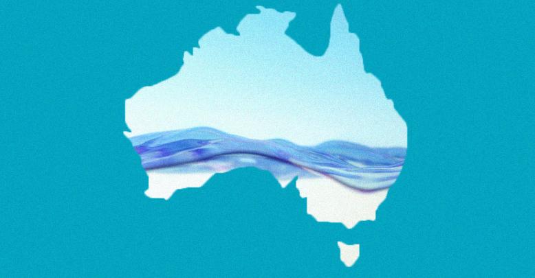 Drinking water running dry in Australia