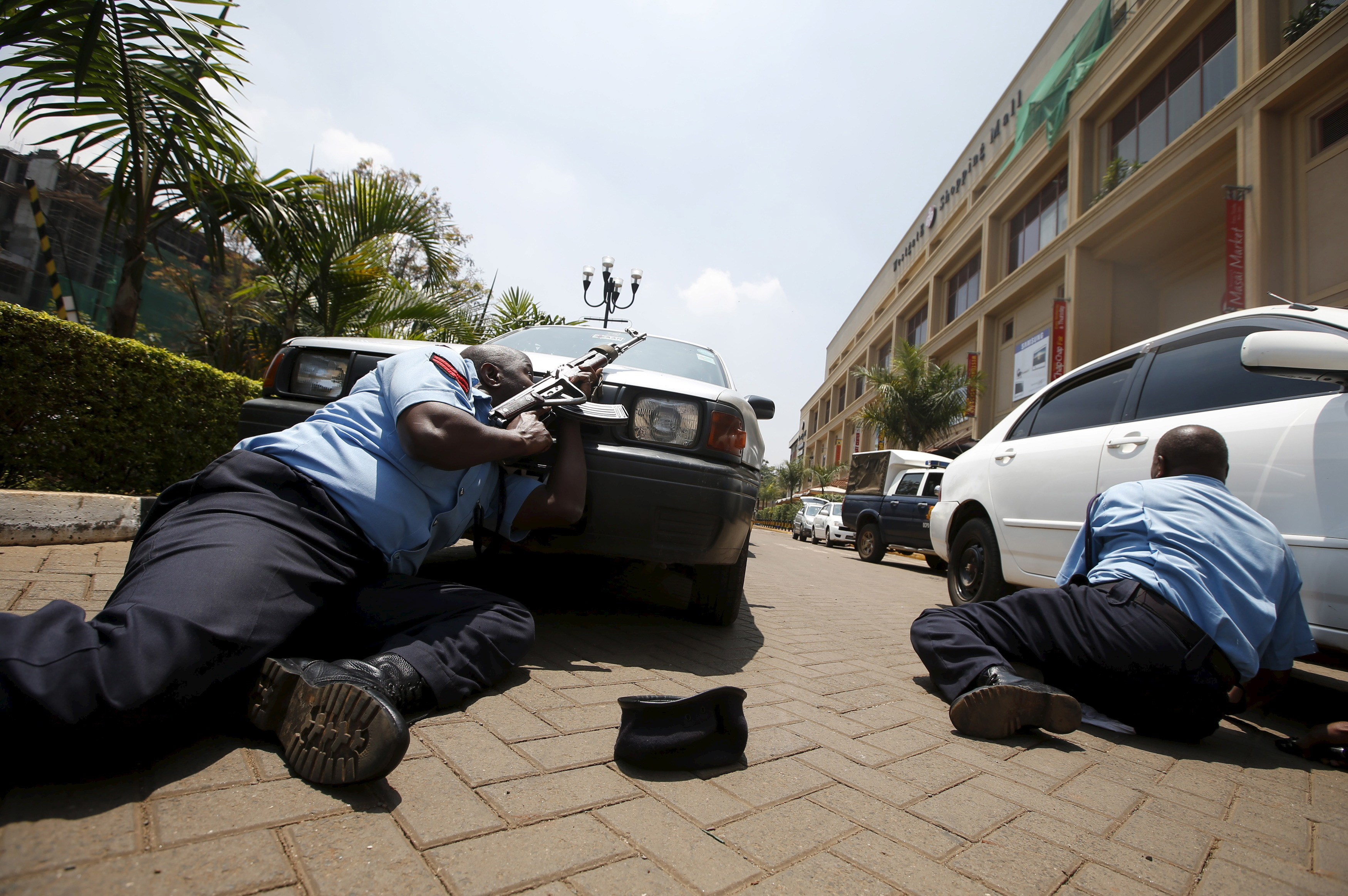 The Westgate mall attack – which Al Shabaab live-tweeted.