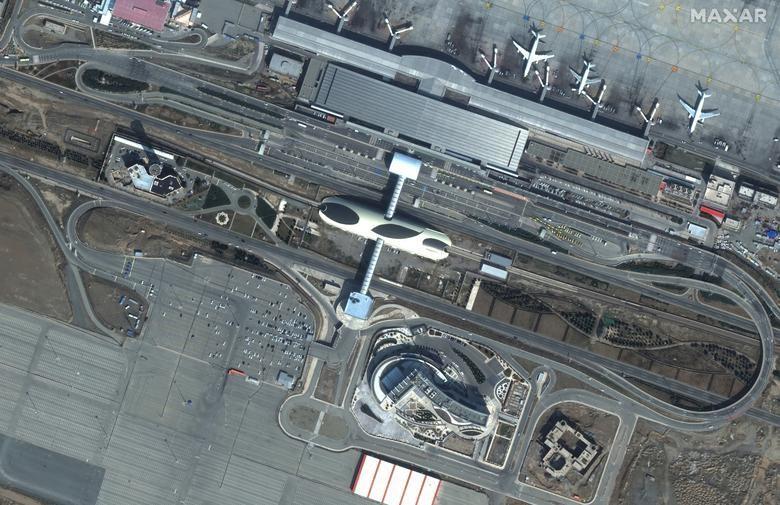 SETELAH: bandara Teheran, Iran, 29 Februari 2020.