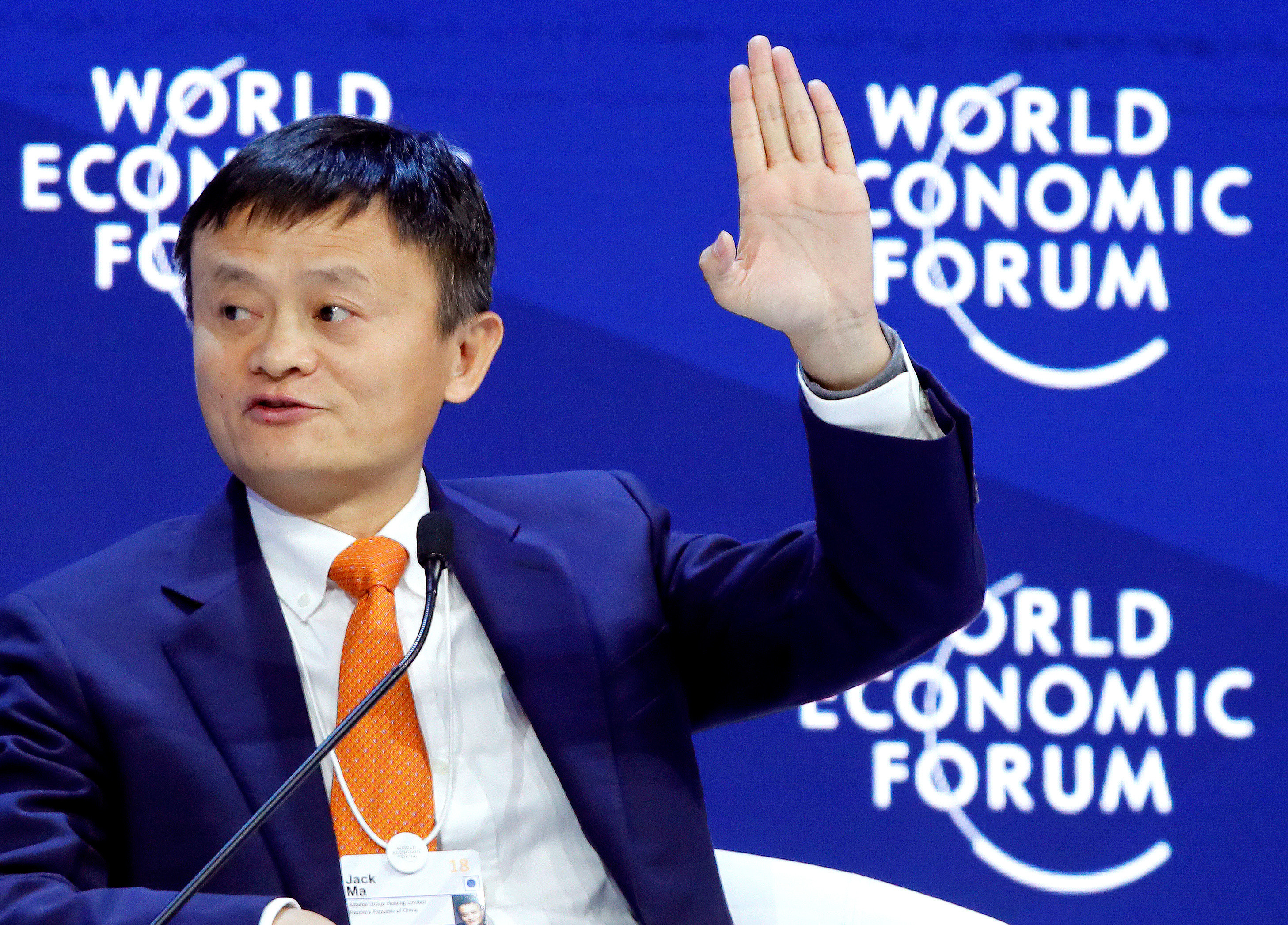 Image result for jack ma world economic forum