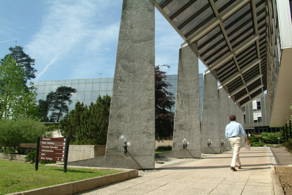 INSEAD's Fontainebleau campus in France.
