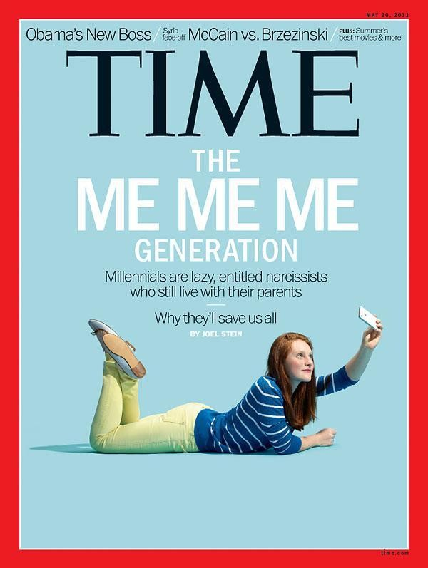 Time Magazine millennial cover