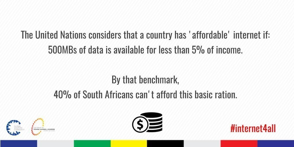 how universal internet access could reboot south africa world