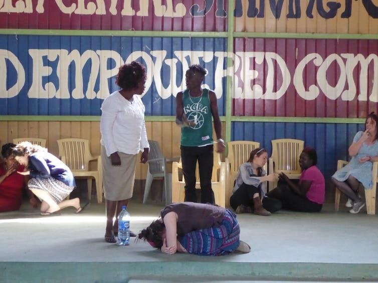 Forum theatre in Mukuru