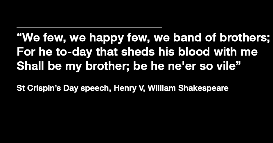 What makes Henry V such an effective leader?