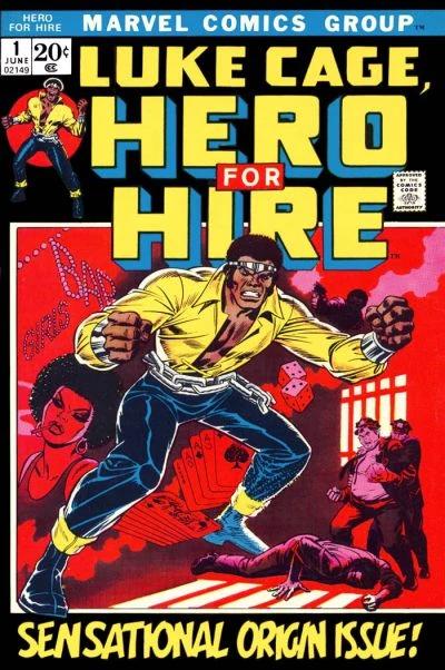 Luke Cage comic debut