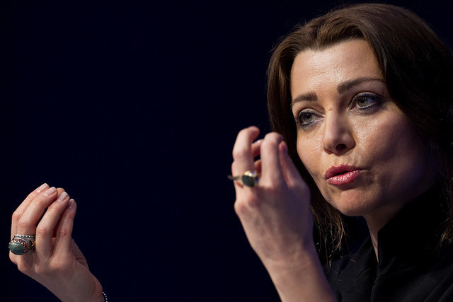 Elif Shafak, Author, Turkey speaking at the Annual Meeting 2017