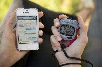 Faudra-t-il désormais chronométrer le délai de réponse des SMS qu'on reçoit pour vérifier s'ils contiennent des mensonges ou pas ?