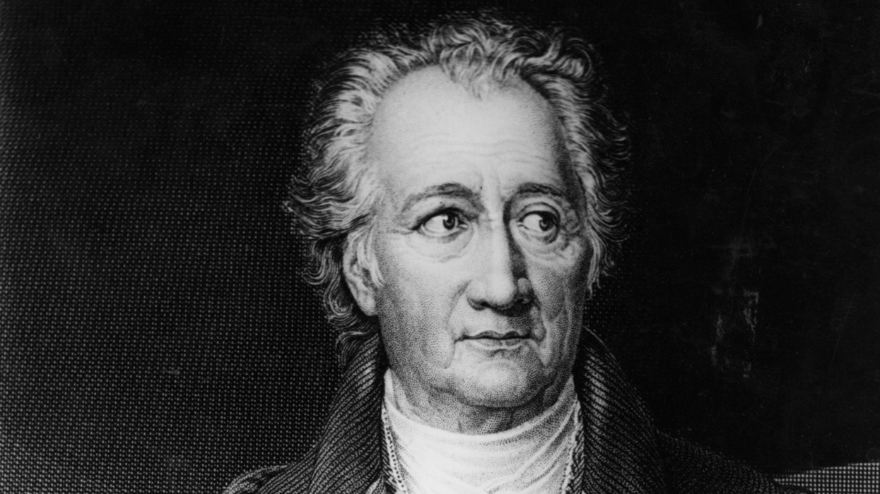 Johann Goethe.