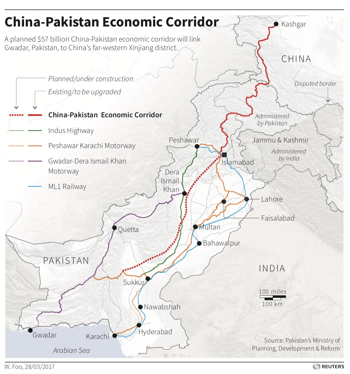 Opportunities and risks – the China-Pakistan trade corridor | World