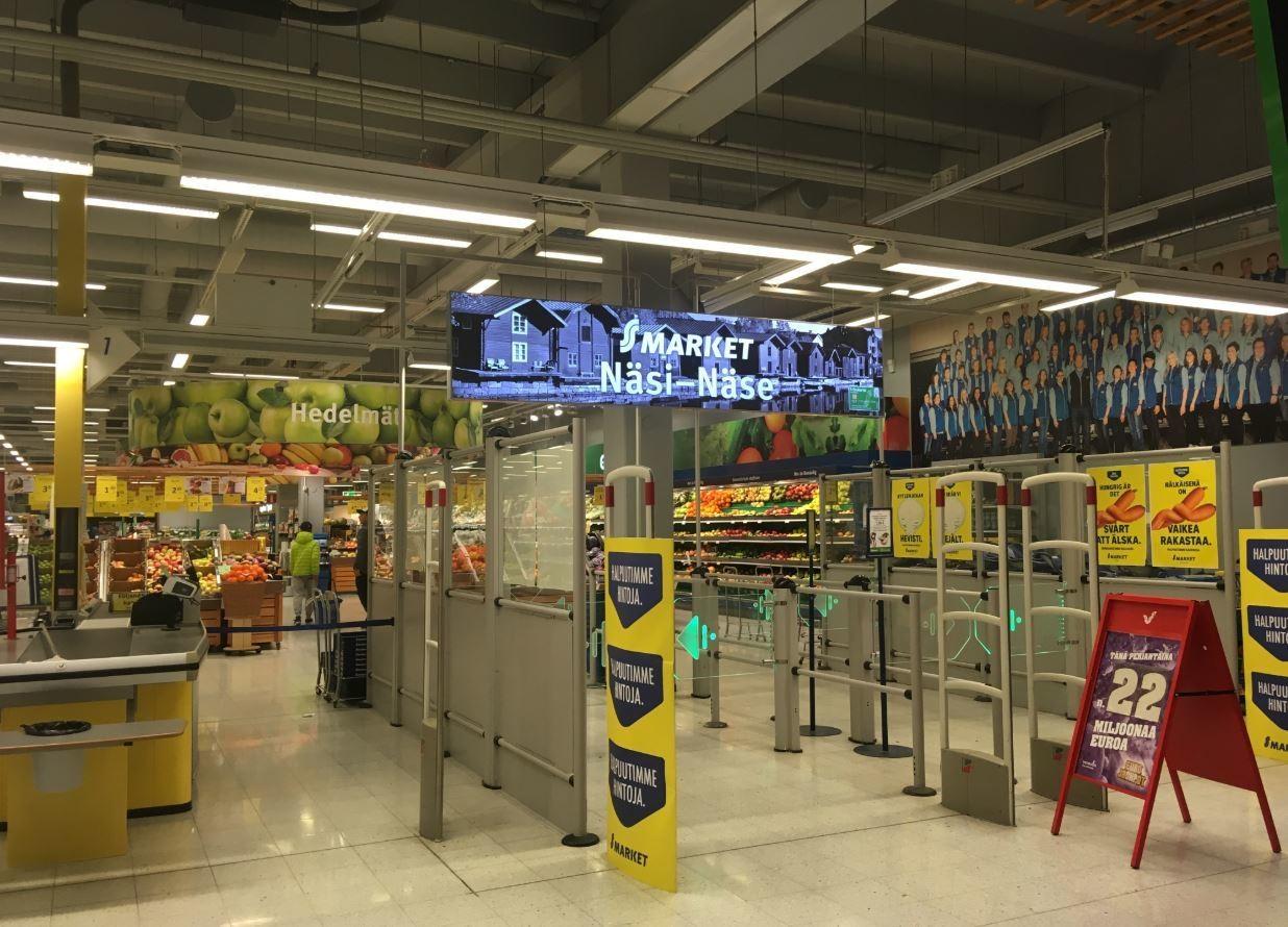 An S-market store