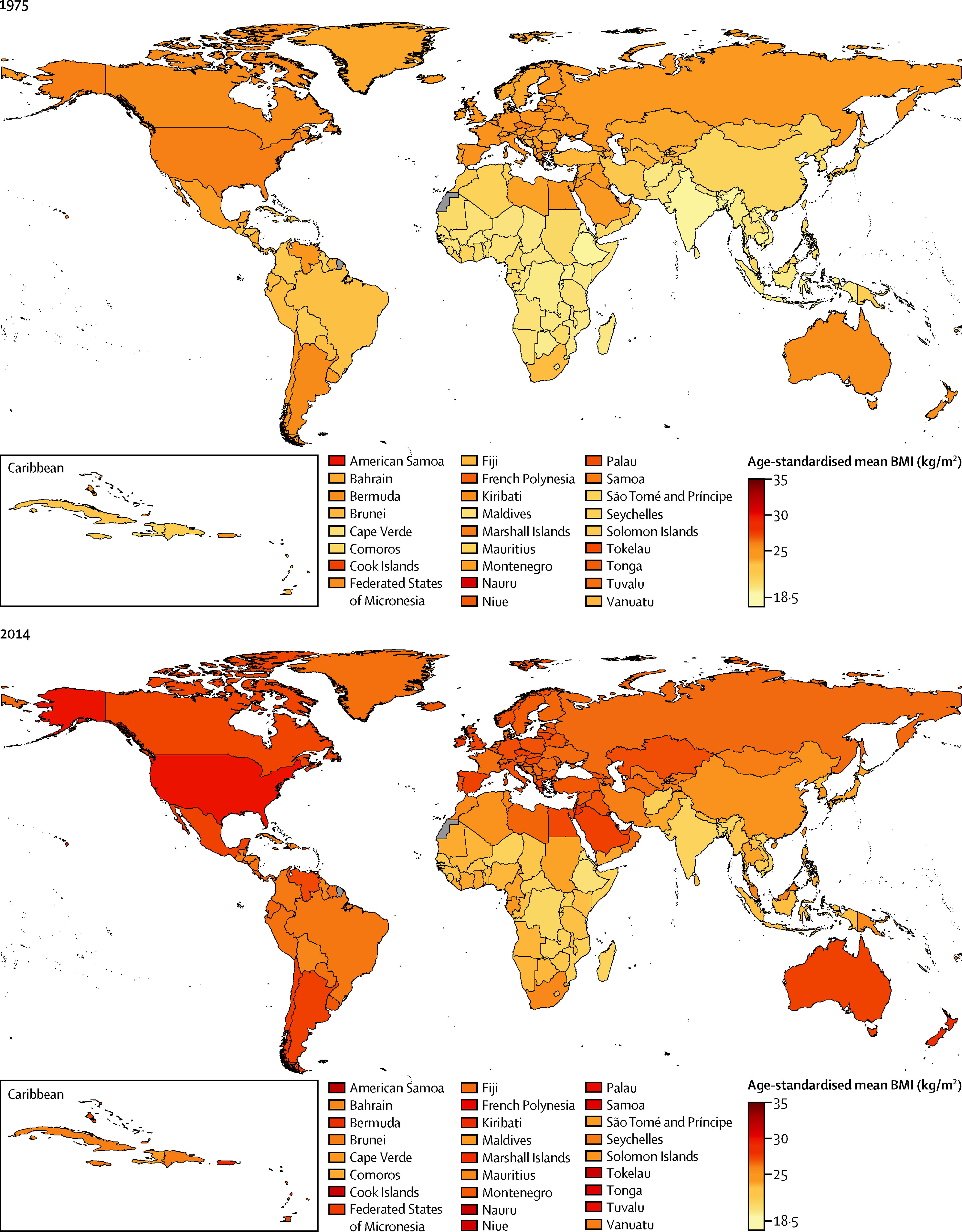 The US Is No Longer The Most Obese Nation One Country Is Doing - Us obesity map 2015