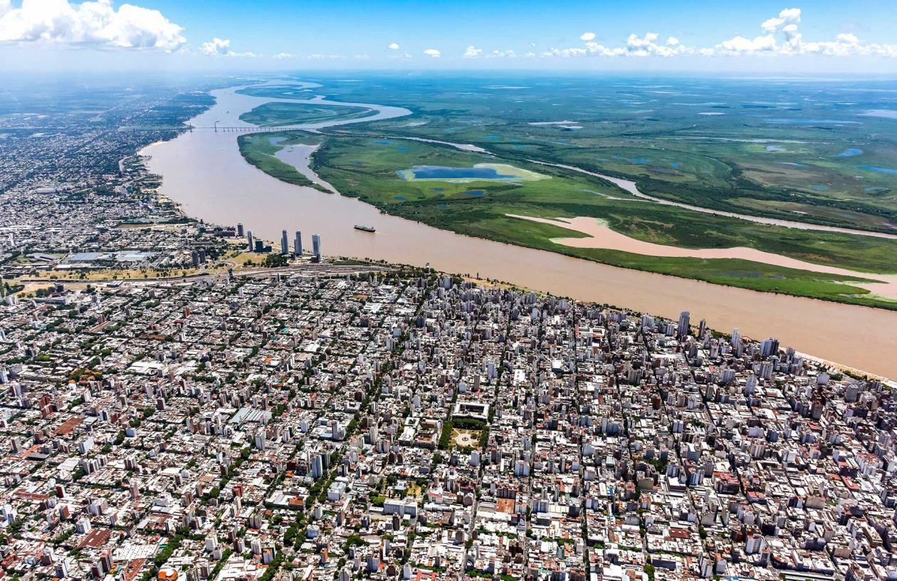 Rosario suffers from floods and the urban heat island effect, both of which climate change has exacerbated. Photo by the Municipality of Rosario.