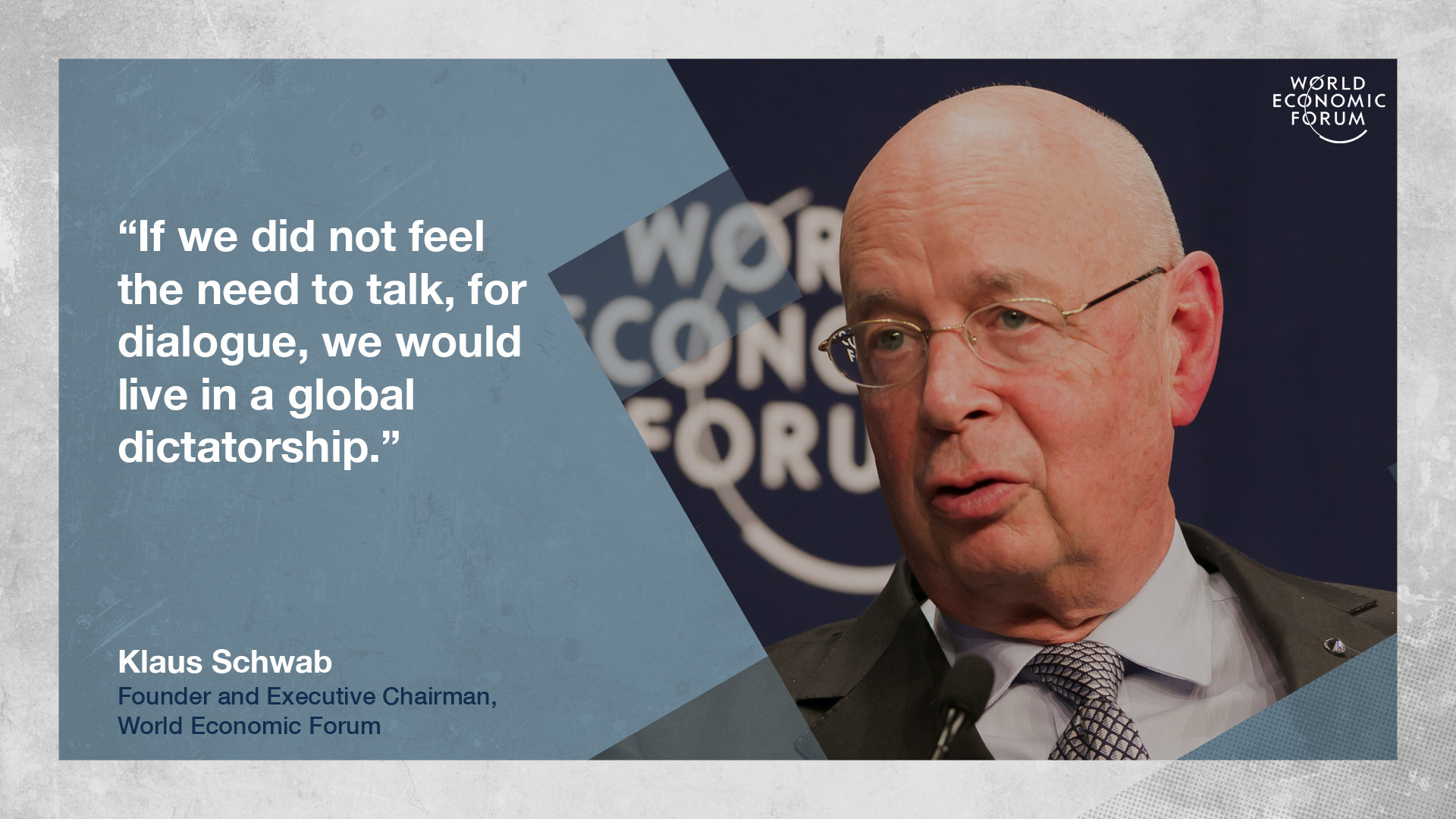 World Economic Forum Davos Klaus Schwab