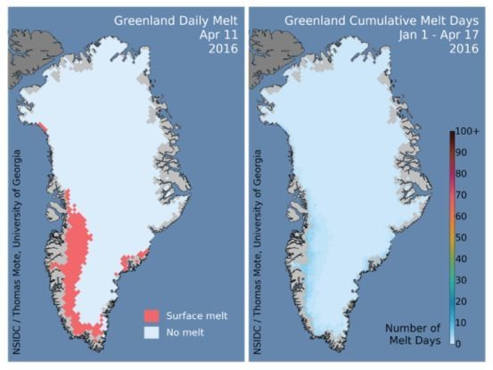Greenlands Ice Sheets Are Disappearing Faster Than Predicted - Map of us after ice caps melt