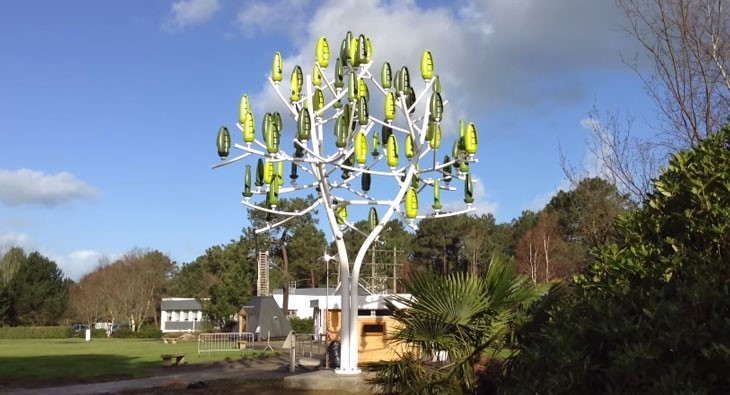 Meet The Wind Turbine That Looks Like A Tree World