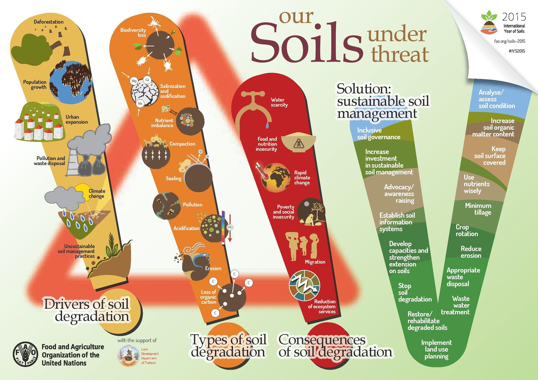 Soils under threat