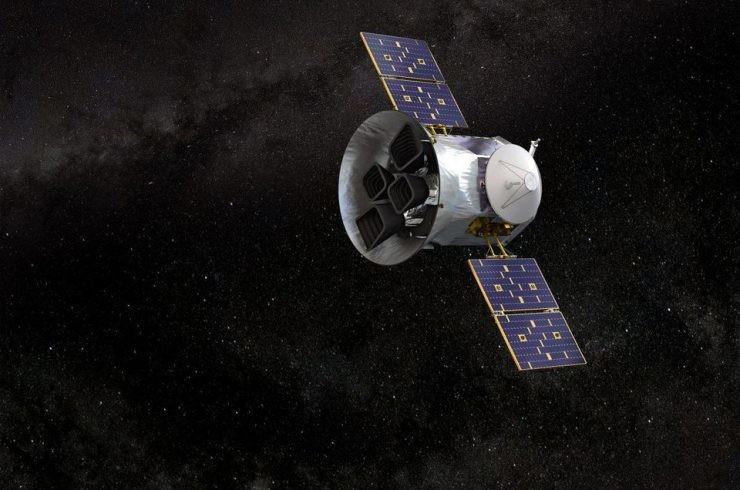 Le TESS de la NASA.